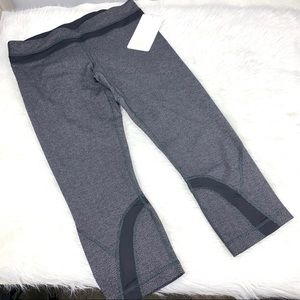 Lululemon Run Inspire Crop II Herringbone 21""
